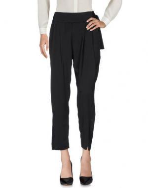 Повседневные брюки MIGUEL PALACIO for HOSS INTROPIA. Цвет: черный