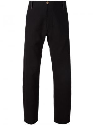 Широкие брюки A Diciannoveventitre. Цвет: чёрный