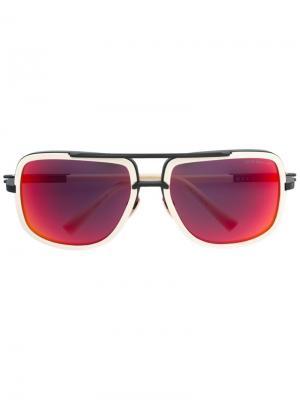 Солнцезащитные очки Mach One Dita Eyewear. Цвет: телесный