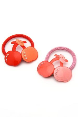Набор резинок NICE GIRL. Цвет: розовый, красный