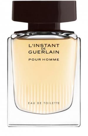 Туалетная вода LInstant Pour Homme Guerlain. Цвет: бесцветный