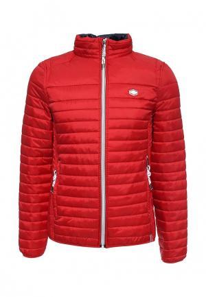 Куртка утепленная MeZaGuz. Цвет: красный
