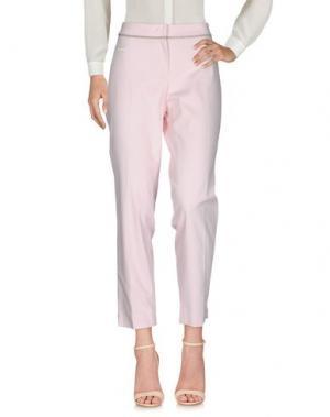 Повседневные брюки VIA MASINI 80. Цвет: светло-розовый