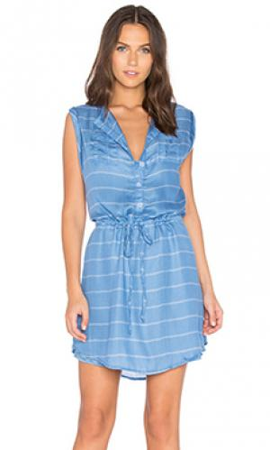 Платье cortland BB Dakota. Цвет: синий