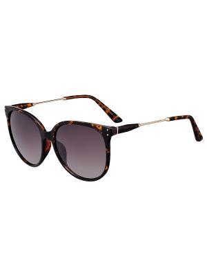 Очки солнцезащитные Модные истории. Цвет: коричневый