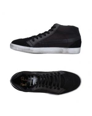 Высокие кеды и кроссовки PRIMABASE. Цвет: черный