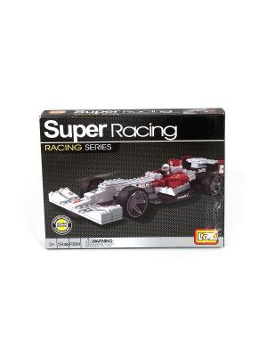Серия Формула 1 : Модель 4 (154 Дет.) (LOZ-F0004) Loz. Цвет: белый, красный, серый, черный