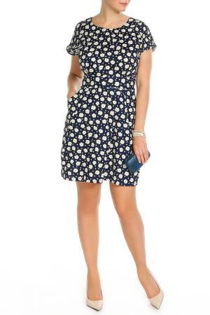 Платье MONT PELLIER. Цвет: синий