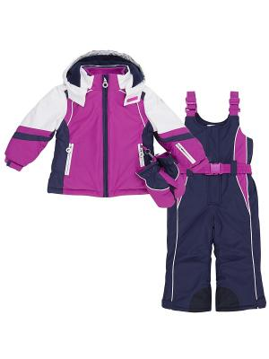 Комплект одежды CHICCO. Цвет: розовый