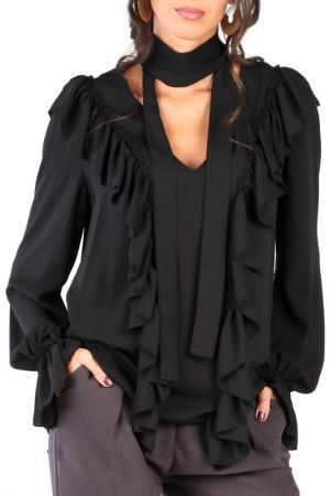 Блуза CARLA BY ROZARANCIO. Цвет: черный