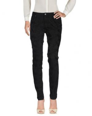 Повседневные брюки SISI. Цвет: черный