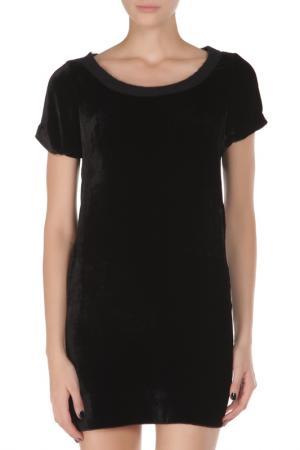 Свободное платье с короткими рукавами Costume National. Цвет: 900, черный