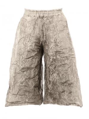 Stainless steel  Boxer Long Clay trousers Toogood. Цвет: металлический