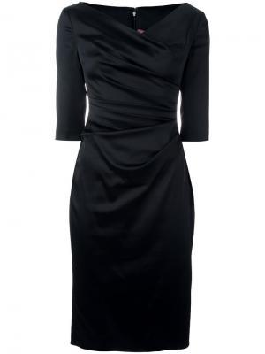 Платье Colly Talbot Runhof. Цвет: чёрный