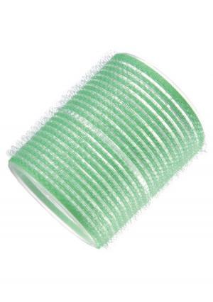 Бигуди-липучки для волос в комплекте (6 шт.) melon Pro. Цвет: зеленый