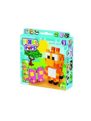 The ORB Factory. Pixel Pops Игрушка Жирафик factory. Цвет: оранжевый, голубой, зеленый