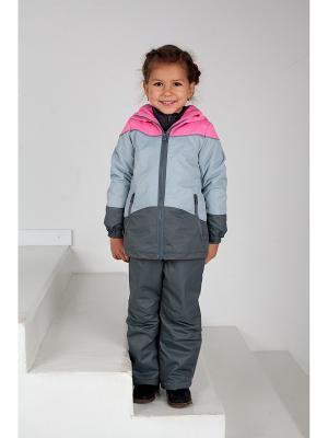 Куртка демисезонная GerdaKay. Цвет: розовый