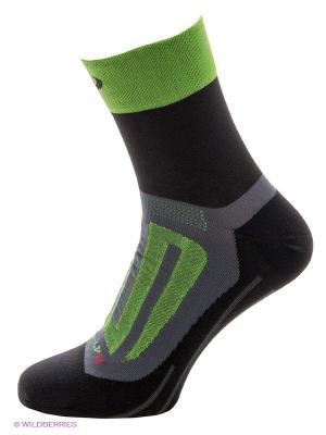 Носки BBB. Цвет: черный, зеленый