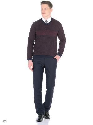 Пуловер MOSKO. Цвет: темно-синий, бордовый