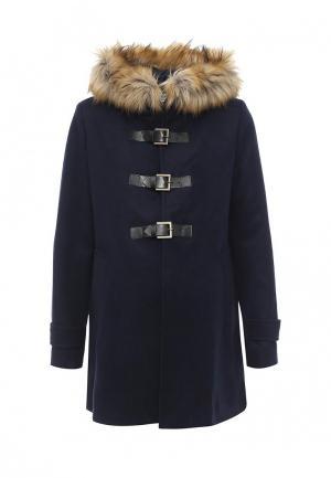 Пальто Envie de Fraise. Цвет: синий