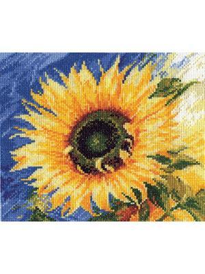 Набор для вышивания Посланник солнца  20х18 см. Алиса. Цвет: желтый,синий,зеленый