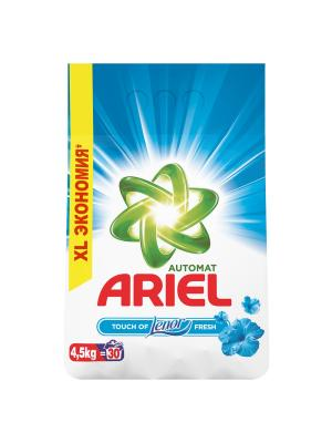 Стиральный порошок Touch of Lenor Fresh 4.5 кг Ariel. Цвет: белый, зеленый