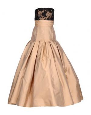 Длинное платье CAILAN'D. Цвет: песочный