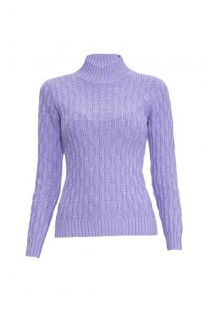 Джемпер из шелка с кашемиром 138070 Sweet Sweaters. Цвет: фиолетовый