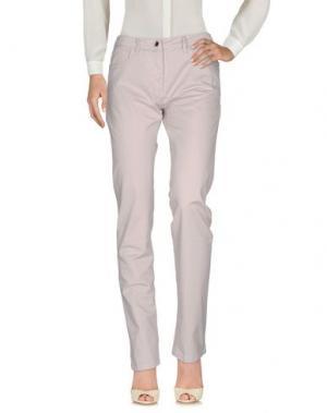 Повседневные брюки GEOX. Цвет: светло-серый