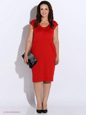 Платье BALSAKO. Цвет: красный