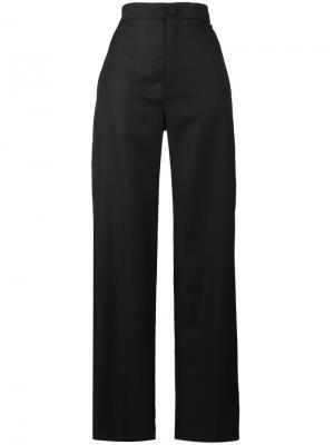 Суженные книзу брюки с завышенной талией Jacquemus. Цвет: чёрный