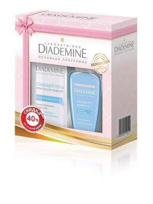 Подарочный набор Очищение Diademine. Цвет: розовый, белый, золотистый