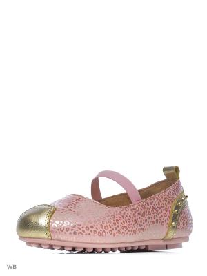 Туфли Vitacci. Цвет: розовый, золотистый