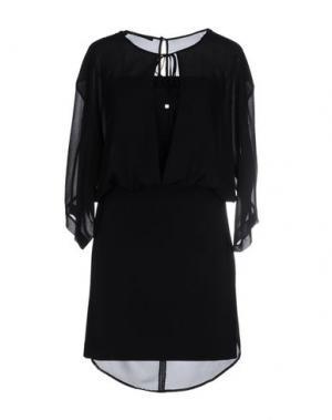 Короткое платье ANNARITA N.. Цвет: черный