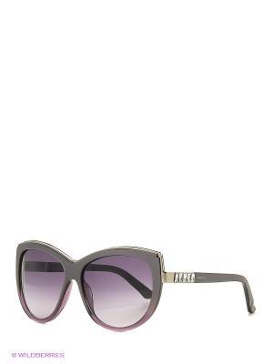 Солнцезащитные очки SK 0091 83Z Swarovski. Цвет: серый