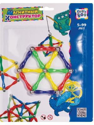 Магнитный конструктор Шестиугольник Kribly Boo. Цвет: желтый, зеленый, фиолетовый, красный
