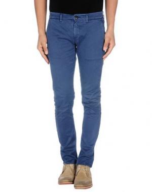 Повседневные брюки HAMPTONS. Цвет: грифельно-синий