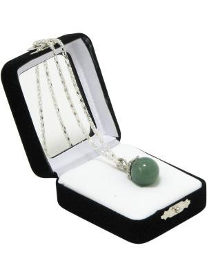 Аромакулон Фантазия, камень - нефрит Aztek. Цвет: зеленый, светло-зеленый, темно-зеленый