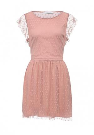Платье Piazza Italia. Цвет: розовый