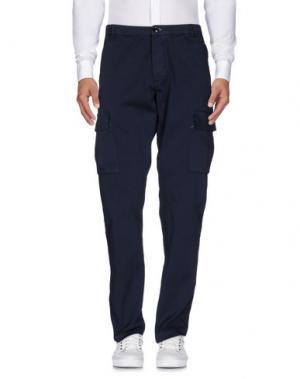 Повседневные брюки RRD. Цвет: темно-синий