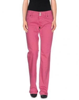 Повседневные брюки NOLITA DE NIMES. Цвет: пурпурный