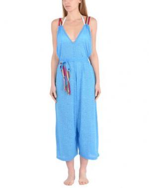 Пляжное платье PITUSA. Цвет: бирюзовый