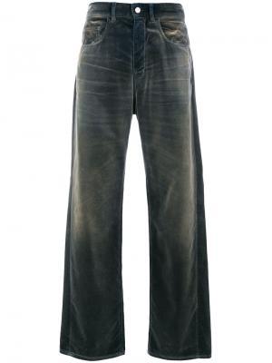 Расклешенные джинсы Golden Goose Deluxe Brand. Цвет: синий