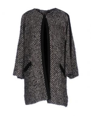 Легкое пальто CARLA MONTANARINI. Цвет: бежевый
