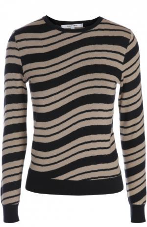 Вязаный свитер Carven. Цвет: темно-синий