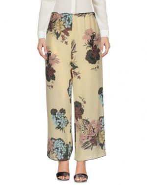 Повседневные брюки KATIA G.. Цвет: желтый
