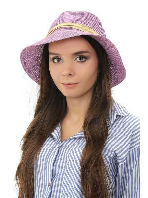 Шляпа Happy Charms Family. Цвет: фиолетовый, бежевый
