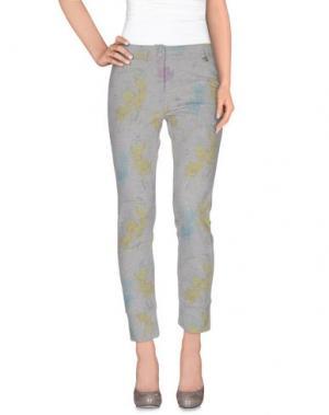 Повседневные брюки BREBIS NOIR. Цвет: кислотно-зеленый