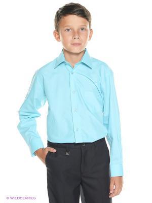 Рубашка Cascatto. Цвет: бирюзовый