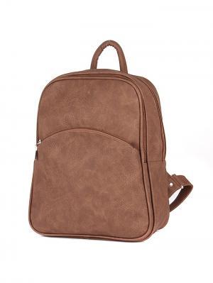 Рюкзак Zoloto. Цвет: коричневый